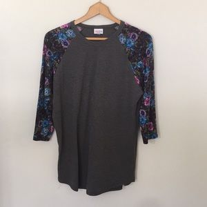 LuLaRoe Floral Randy Top